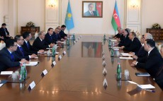 Negotiations with Ilham Aliyev, the President of the Republic of Azerbaijan, in expanded format