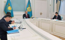 President Kassym-Jomart Tokayev took part in the session of the Supreme Eurasian Economic Council