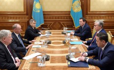 President of Kazakhstan Kassym-Jomart Tokayev meets with Nikolai Patrushev, Secretary of the Russian Federation Security Council