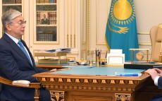 Kassym-Jomart Tokayev receives Minister of Information and Public Development Dauren Abayev