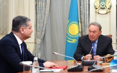 Meeting with Tigran Sargsyan, Chairman of the Eurasian Economic Commission Board