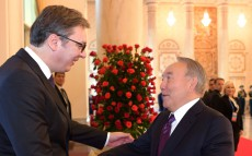Meeting with the President of Serbia Aleksandar Vucic
