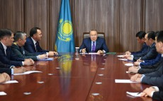 Meeting with the leadership of Kazakhstan's State Security Service