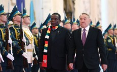 Meeting with President of Zimbabwe Emmerson Mnangagwa