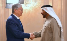 President Kassym-Jomart Tokayev met with Ahmed Ali Al Sayegh, the Chairman of Abu Dhabi Global Market