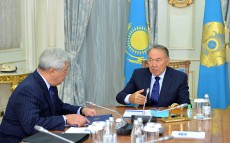Meeting with the Foreign Affairs Minister Erlan Idrissov