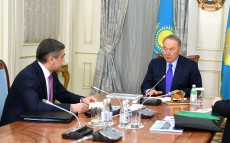 Meeting with Nurlan Yermekbayev, Minister for Religious Affairs and Civil Society